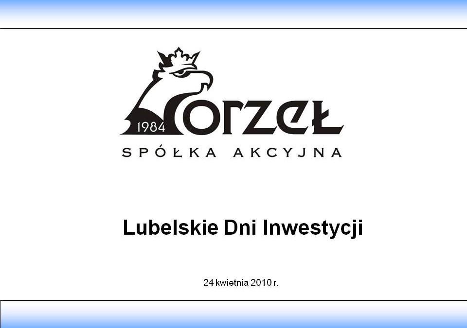 Prezentacja LDI 2010