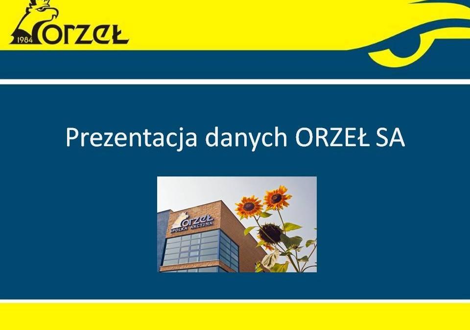 Prezentacja ORZEŁ S.A.