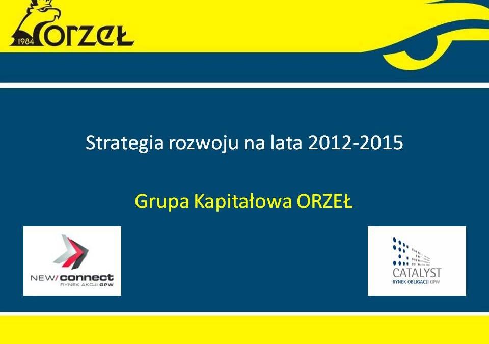 Strategia 2012 – 2015