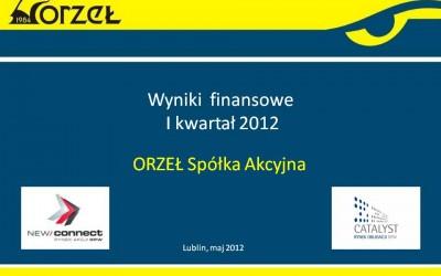 Wyniki I Q 2012 r.