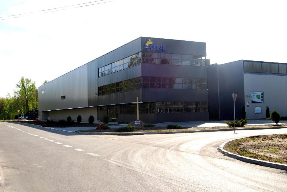Wykończenie i instalacja  Zakładu